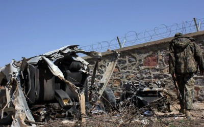 24 injured in Afghanistan car bombing