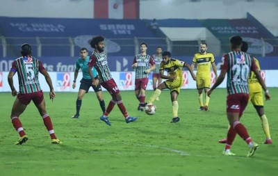 ATK Mohun Bagan, Hyderabad share points in 1-1 draw