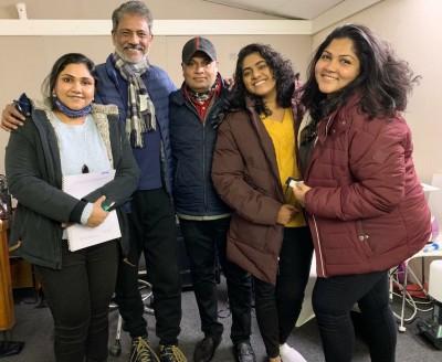 Adil Hussain begins shooting for 'FootPrints On Water' in London