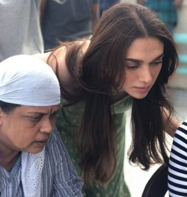 Aditi Rao Hydari wraps up 'Hey Sinamika'