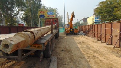 Agra metro project progressing at a good clip