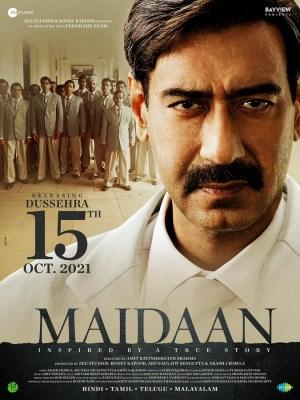Ajay Devgn-starrer 'Maidaan' to release on Dussehra 2021 in theatres