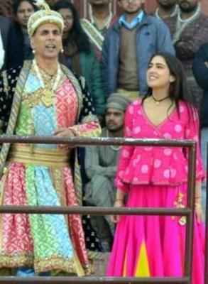 Akshay, Sara, Dhanush shoot in Agra for Atrangi Re