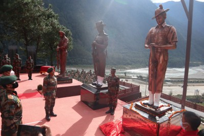 Army unveils statues of 1962 India-China war heroes in Arunachal