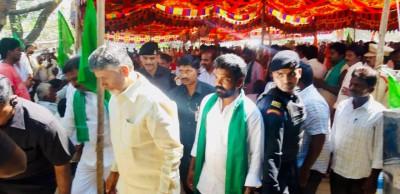 As Amaravati protests turn 1, Naidu calls it 'Capital of Gods'