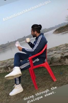 Ayushmann shares snapshot of his look in 'Chandigarh Kare Aashiqui'