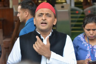 BJP government humiliating elderly farmers: Akhilesh