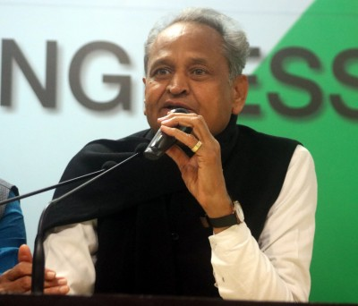 BJP playing the game of trying to topple our govt, says Gehlot