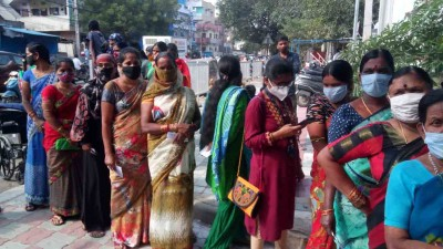 Ballot papers in Hyderabad polls give new experience to young voters