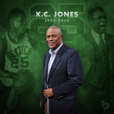 Basketball Hall of Famer KC Jones dies at 88