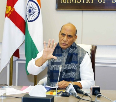 Befitting that Military Lit Fest is conceived in Punjab: Rajnath