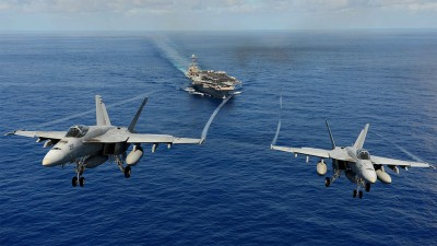 Boeing woos Indian Navy with 'F/A-18' Super Hornet's ski-jump launch