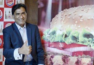 Burger King India hits upper circuit on first day of trade (Ld)