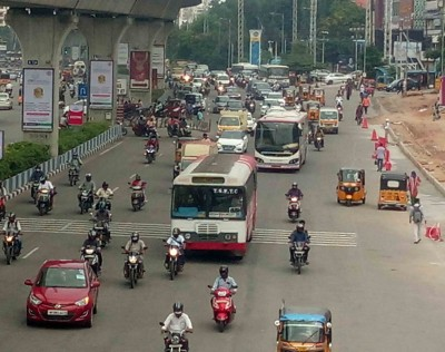 Bus movement hit by Bharat Bandh in T'gana