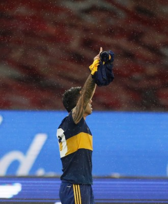 Carlos Tevez on Maradona tribute: 'I knew I'd score'