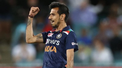 Chahal equals Bumrah's record for most wickets for India in men's T20Is