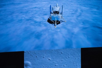 Chang'e-5 completes first orbital correction en route to Earth