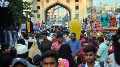 Eid shopping at Charminar