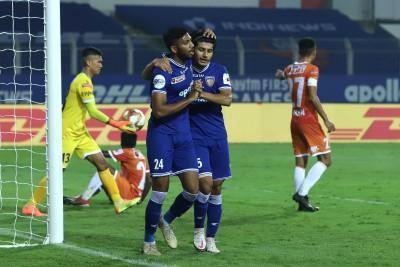 Chennaiyin record 1st win of season, beat Goa 2-1