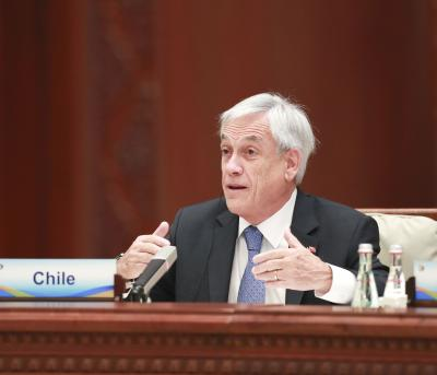 Chilean Prez calls for global goals towards carbon neutrality