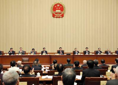 China's top legislature to convene annual session in March