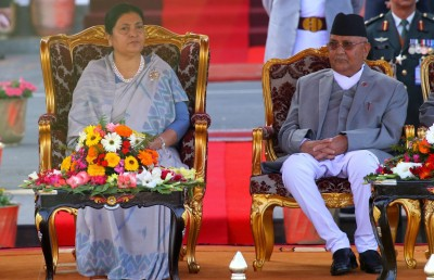 Chinese leaders meet Nepal Prez, PM