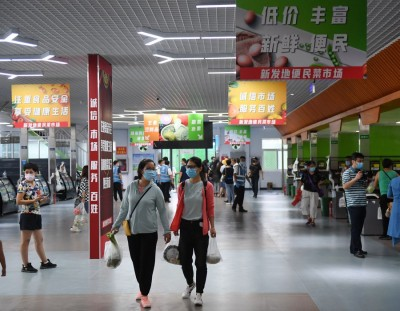 Chinese mainland reports 2 new locally transmitted Covid-19 cases