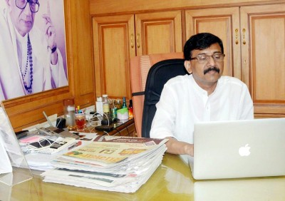 Courts fall into any issues these days: Sena's Raut