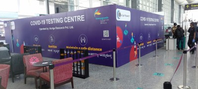 Covid test centre opened at Bengaluru airport for fast results
