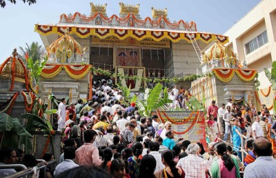 Devotees throng Vishnu temples in Bengaluru amid Covid fear