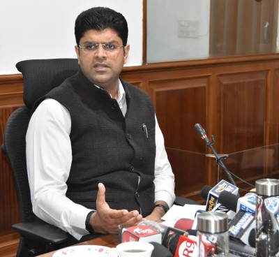 Dushyant Chautala hopes for solution to farmers' protest in 48 hrs