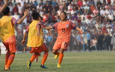 Each footballer of Indian women's team is a star: Striker Dangmei
