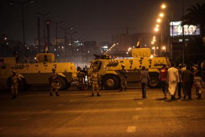 Egyptian army intensifies military exercises
