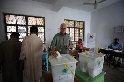 Election Commission of Pak announces bypolls