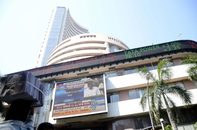 Equity indices open in green, Sensex hits new high
