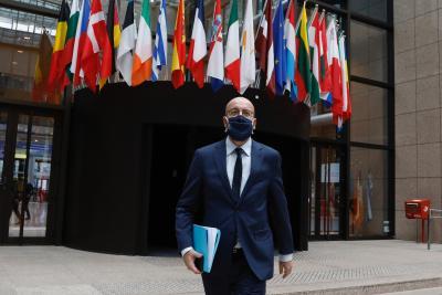 European Council Prez quarantines after Macron's Covid-19 diagnosis