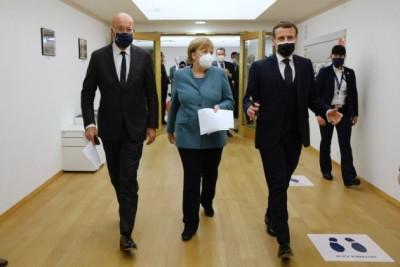 European leaders quarantine after Macron's Covid-19 diagnosis (Ld)