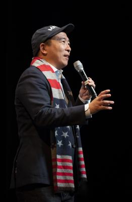 Ex-US prez contender Andrew Yang files papers for NYC Mayor race