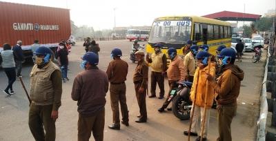 Farmers threats to block expressway, toll plaza fail in Gurugram