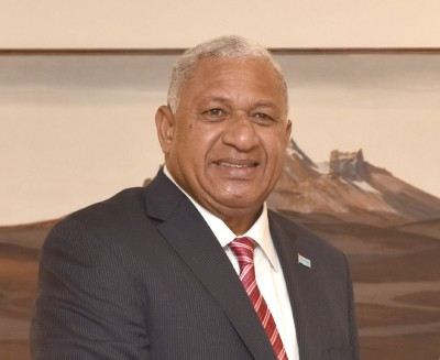 Fijian PM urges action in fight against climate change