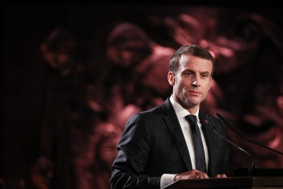 French Prez Macron tests positive for Covid-19 (Ld)