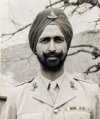 'Full service': Only man to serve all three armed forces turns 100