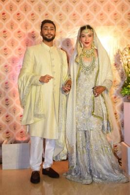 Gauahar Khan and Zaid Darbar say 'qubool hai', share wedding photos