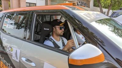 Gaurav Gill wins round 1 of National Rally Championship