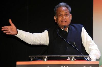 Gehlot blames Covid-19 for panchayat poll loss