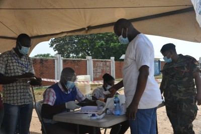 Ghana to sack voters without face masks at polling centres