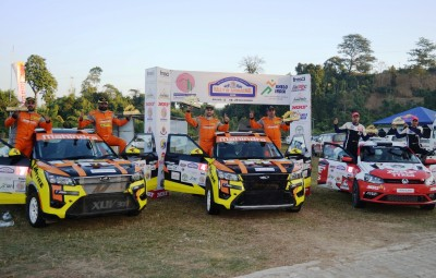 Gill roars to victory in round 2 of national rally c'ships