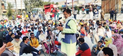 Gurugram: BJP leaders, workers hold 1-day fast over SYL issue