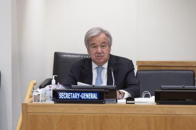 Guterres calls for including migrants in every nation's Covid-19 response