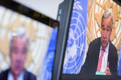 Guterres calls for making 2021 'year of healing'